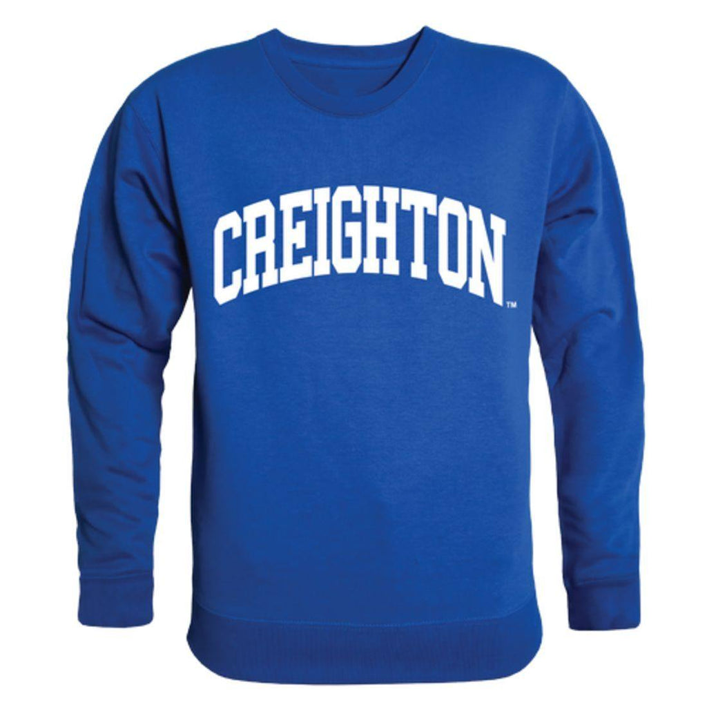 Creighton University Bluejays Arch Crewneck Pullover Sweatshirt Sweater Royal