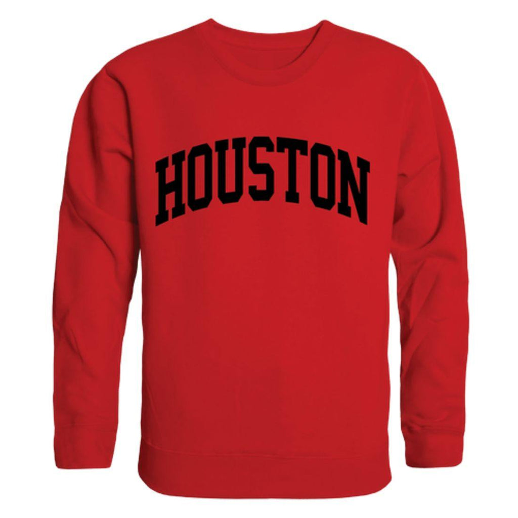 UH University of Houston Cougars Arch Crewneck Pullover Sweatshirt Sweater Red