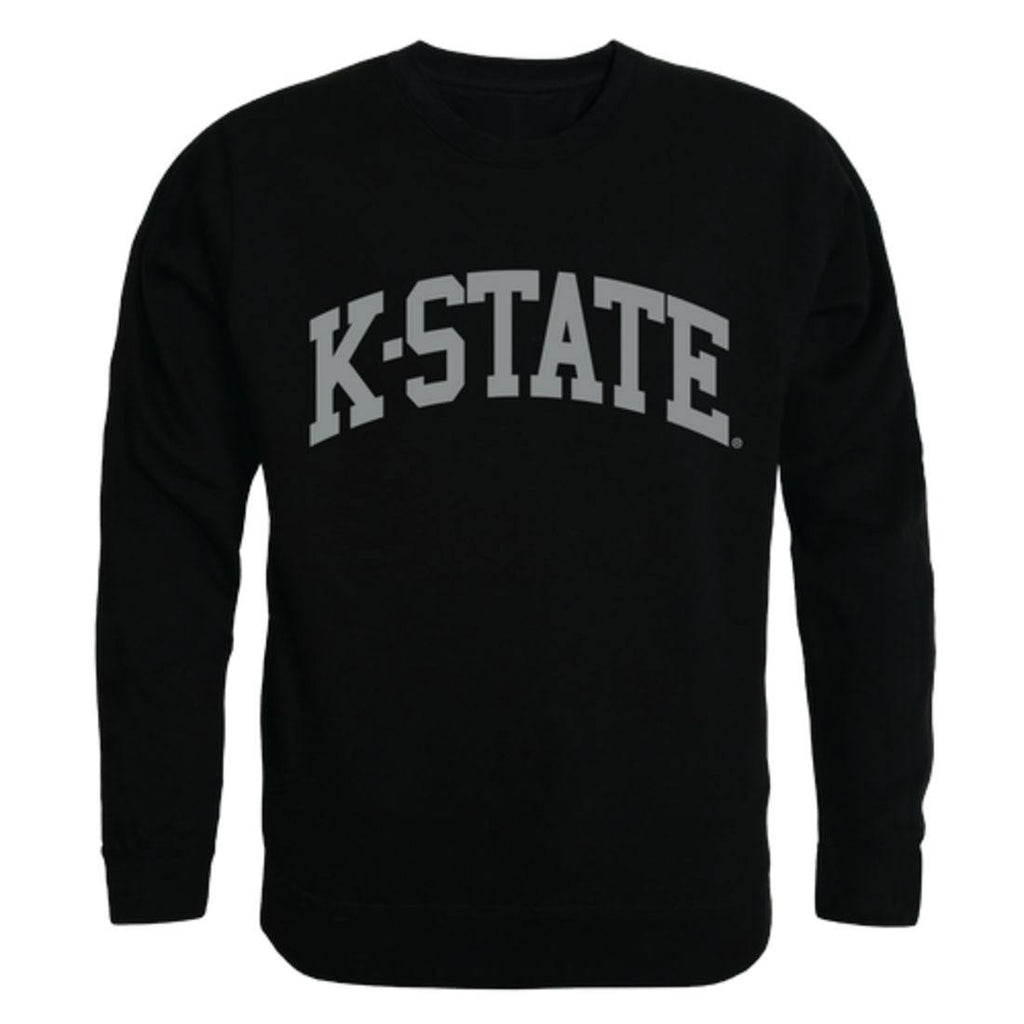 KSU Kansas State University Wildcats Arch Crewneck Pullover Sweatshirt Sweater Black