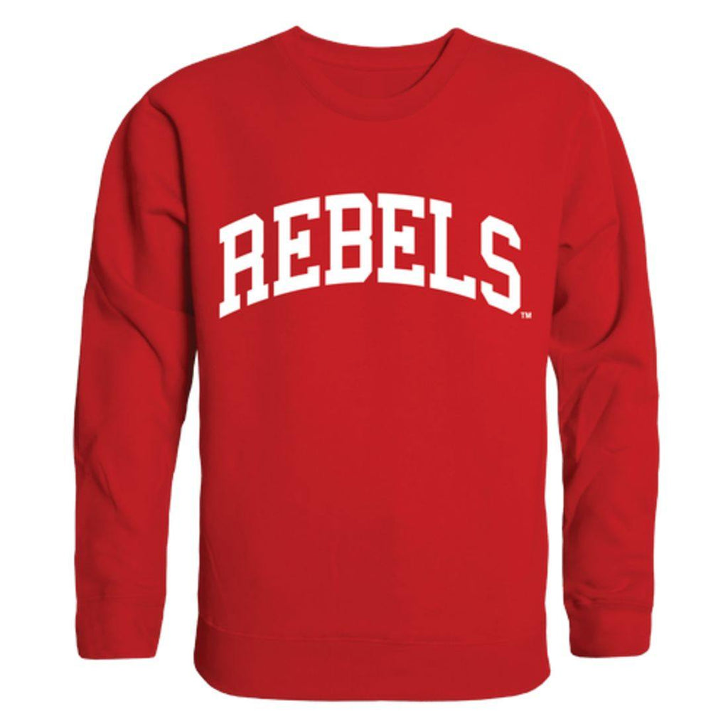 UNLV University of Nevada Las Vegas Rebels Arch Crewneck Pullover Sweatshirt Sweater Red