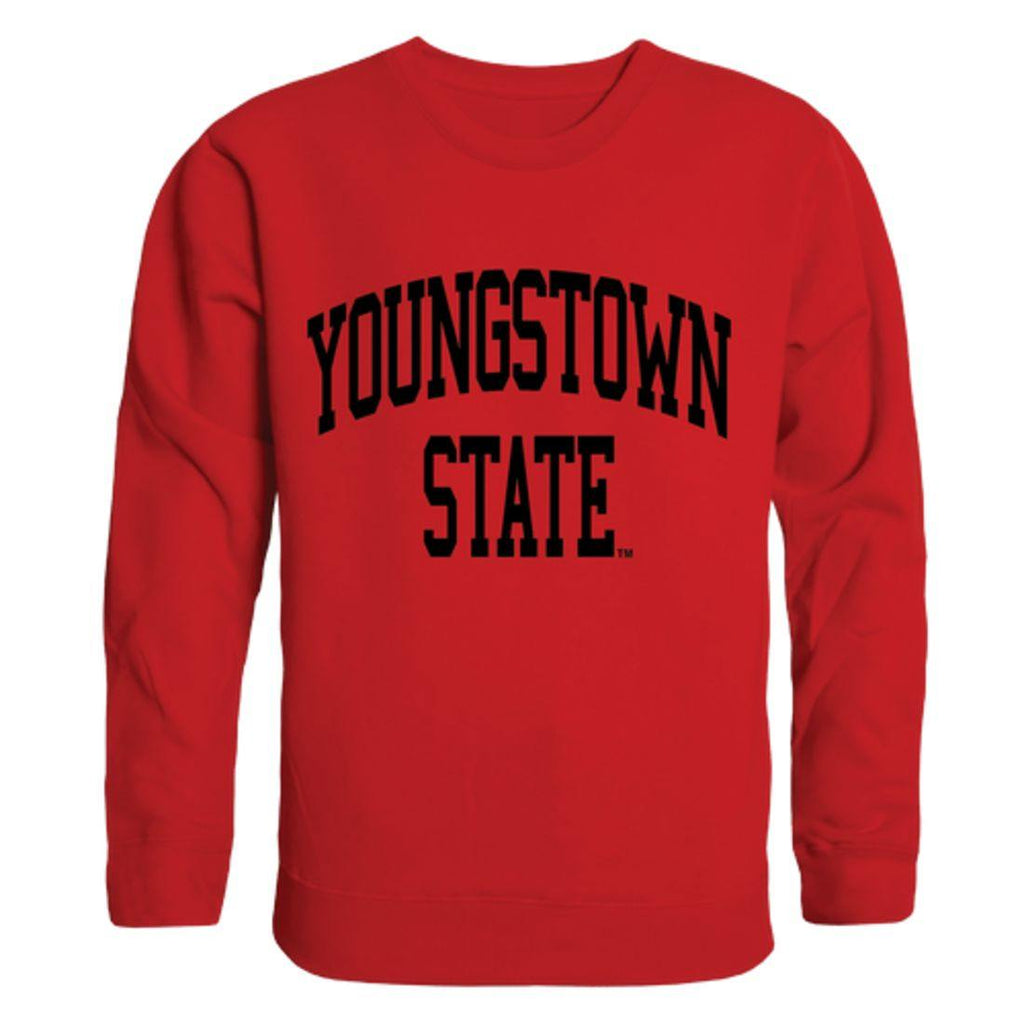 YSU Youngstown State University Penguins Arch Crewneck Pullover Sweatshirt Sweater Red