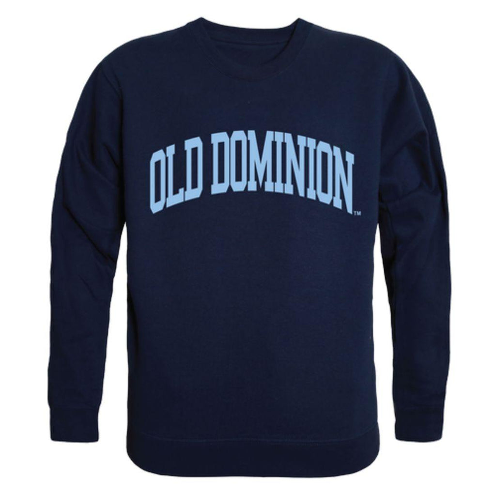 ODU Old Dominion University Monarchs Arch Crewneck Pullover Sweatshirt Sweater Navy