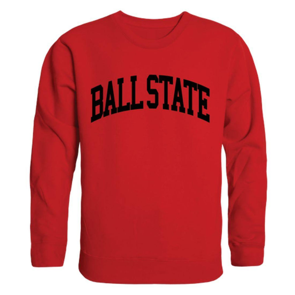 BSU Ball State University Arch Crewneck Pullover Sweatshirt Sweater Red