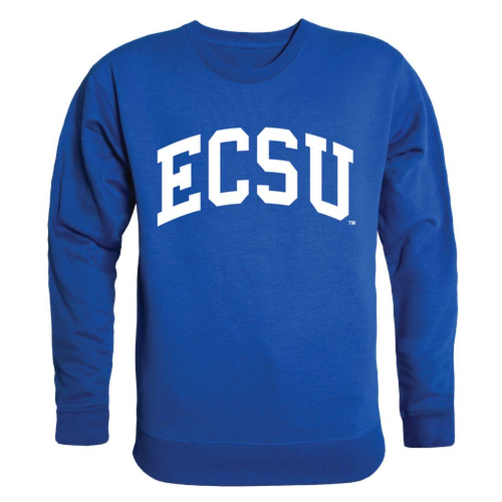 ECSU Elizabeth City State University Vikings Arch Crewneck Pullover Sweatshirt Sweater Royal