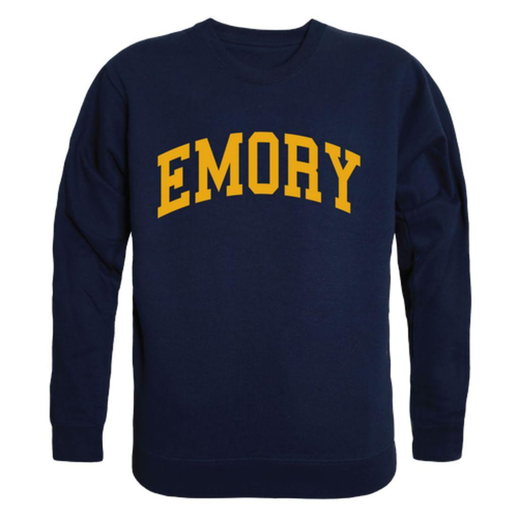 Emory University Eagles Arch Crewneck Pullover Sweatshirt Sweater Navy