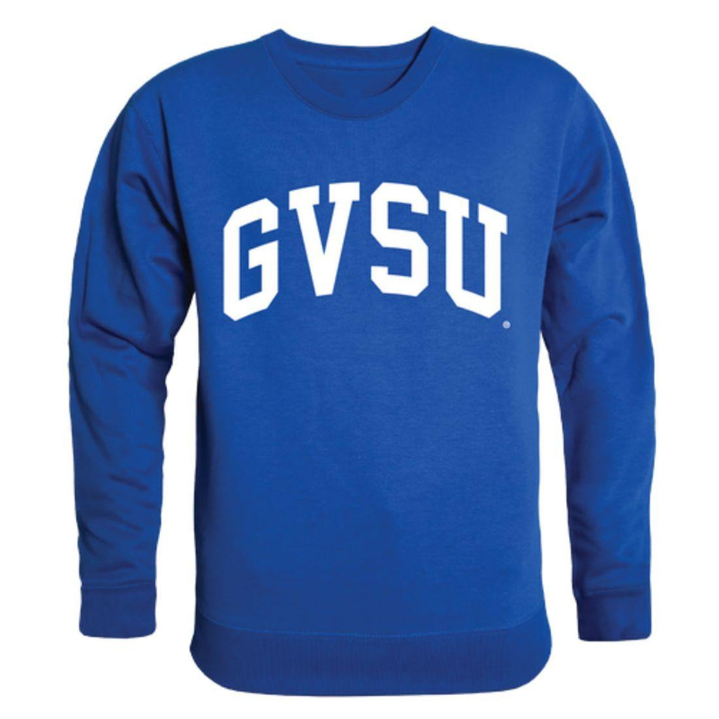 GVSU Grand Valley State University Lakers Arch Crewneck Pullover Sweatshirt Sweater Royal