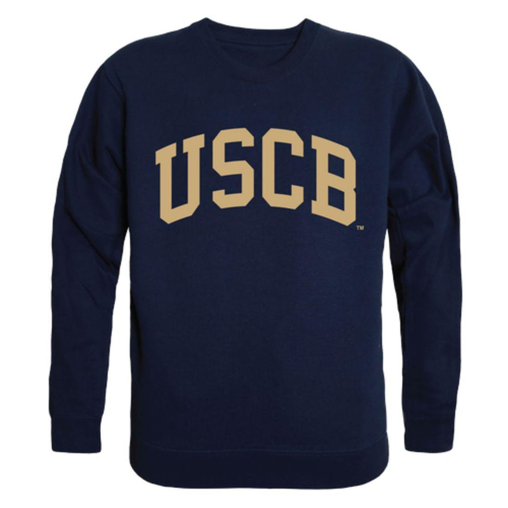 USCB University of South Carolina Beaufort Sand Sharks Arch Crewneck Pullover Sweatshirt Sweater Navy