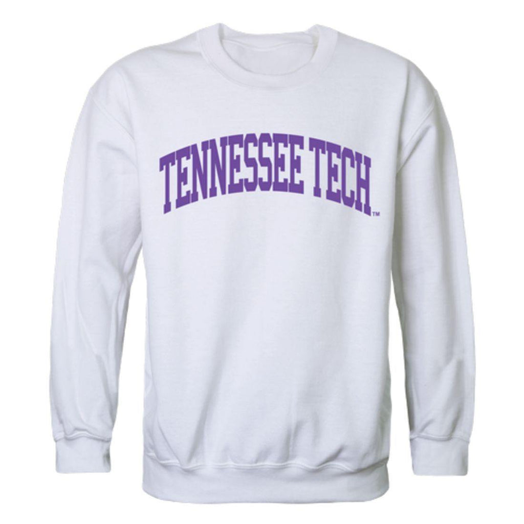 TTU Tennessee Tech University Golden Eagles Arch Crewneck Pullover Sweatshirt Sweater White