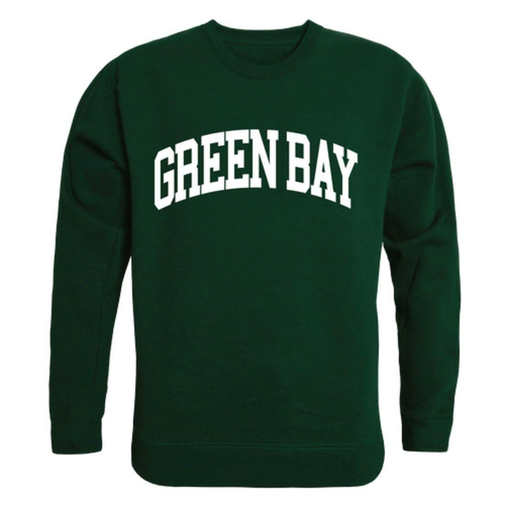 UWGB University of Wisconsin-Green Bay Phoenix  Arch Crewneck Pullover Sweatshirt Sweater Forest