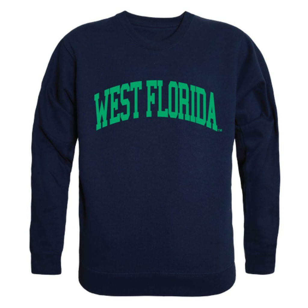 UWF University of West Florida Argonauts Arch Crewneck Pullover Sweatshirt Sweater Navy