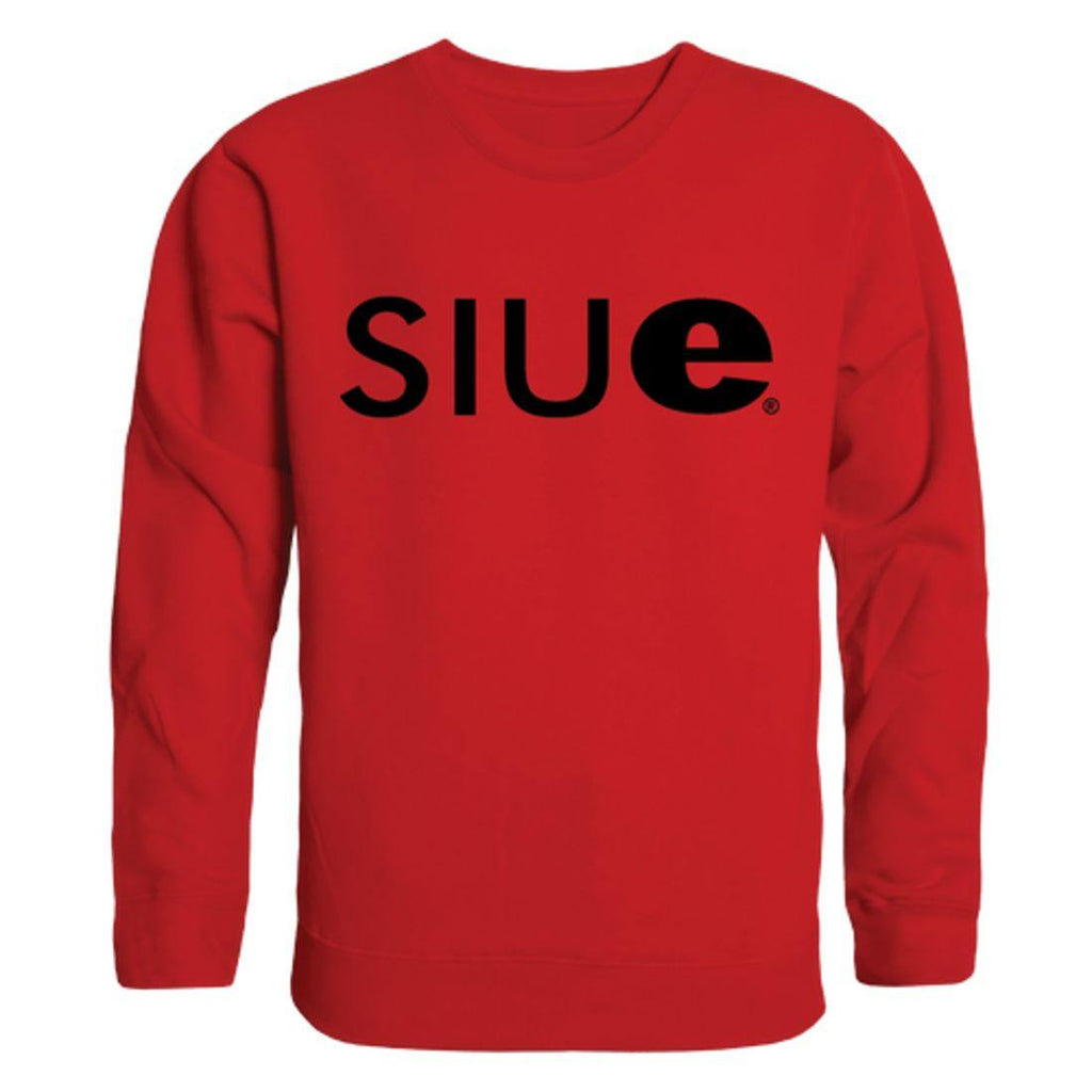 SIUE Southern Illinois University Edwardsville Cougars Arch Crewneck Pullover Sweatshirt Sweater Red