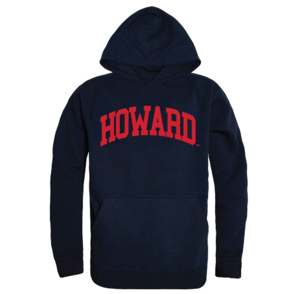 Howard University Bison College Hoodie Sweatshirt Navy
