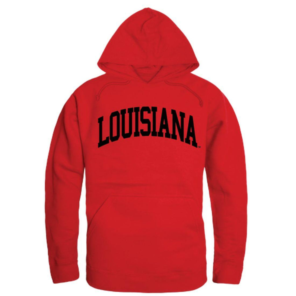 UL University of Louisiana at Lafayette Ragin' Cajuns College Hoodie Sweatshirt Red