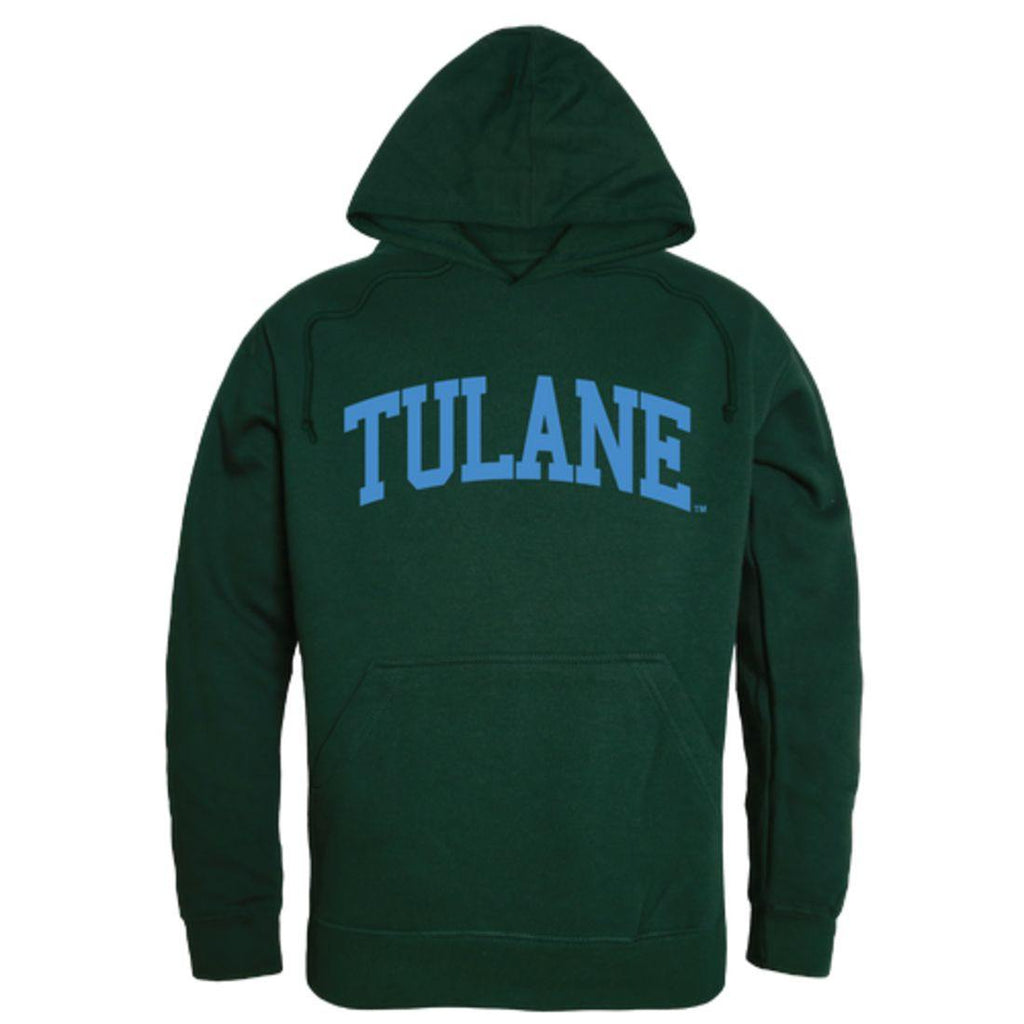 Tulane University Green Waves College Hoodie Sweatshirt Forest