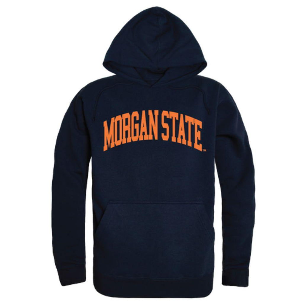 Morgan State University Bears College Hoodie Sweatshirt Navy