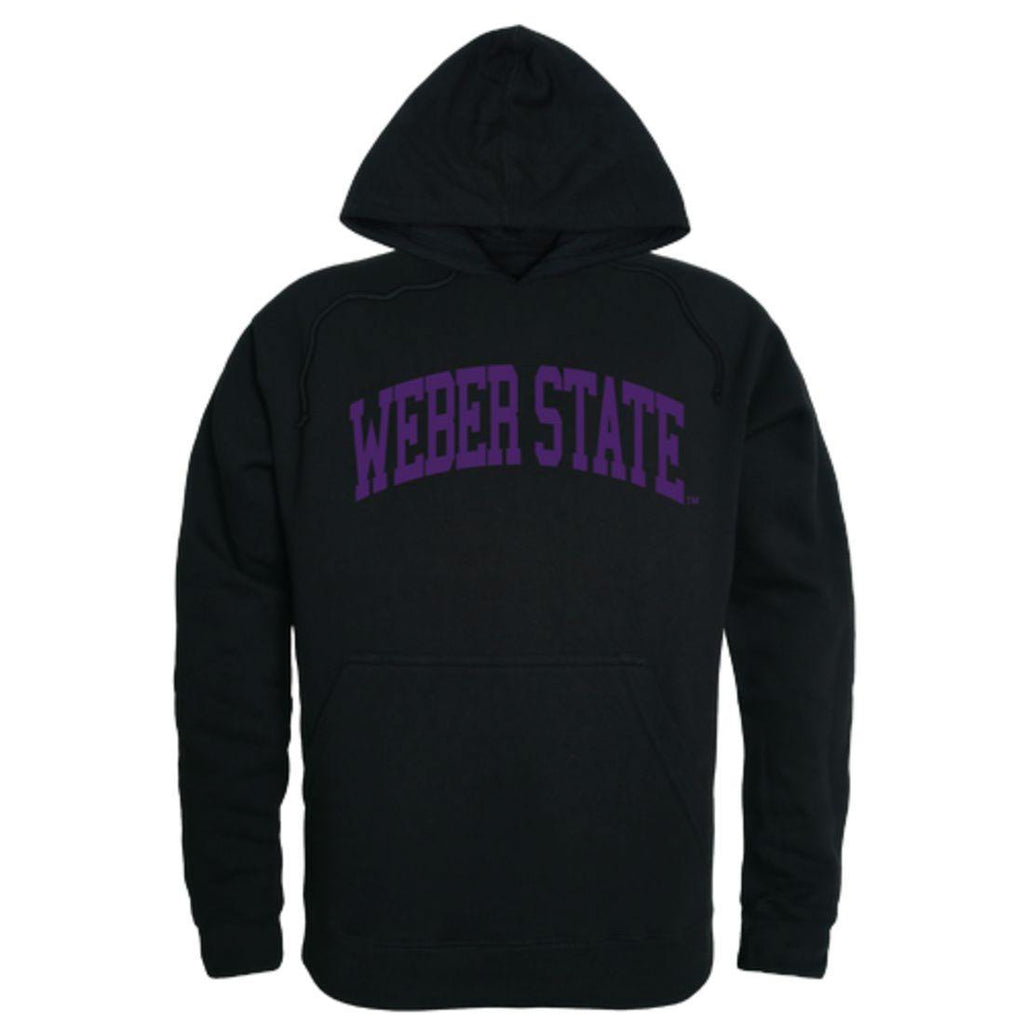 Weber State University Wildcats  College Hoodie Sweatshirt Black