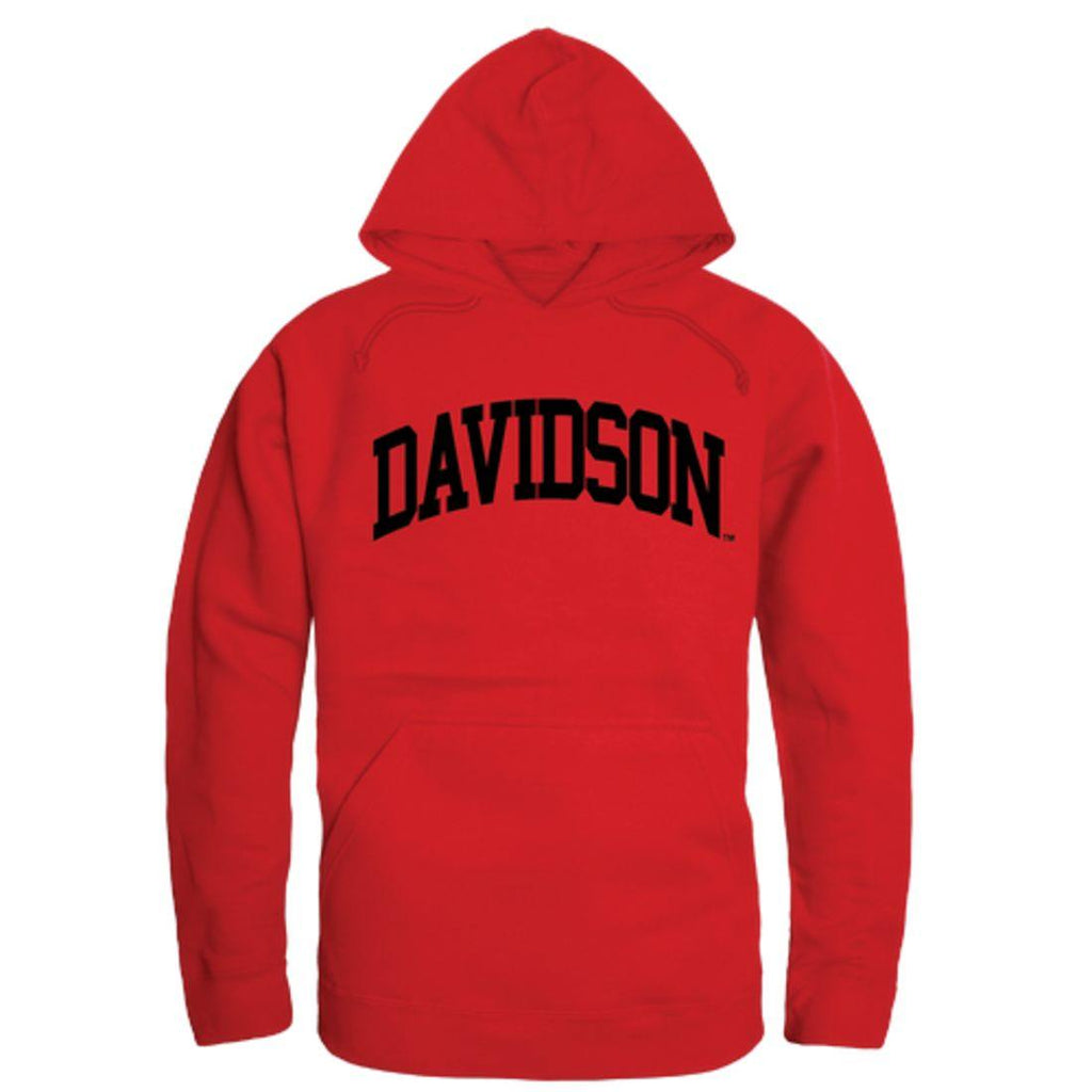 Davidson College Wildcats College Hoodie Sweatshirt Red