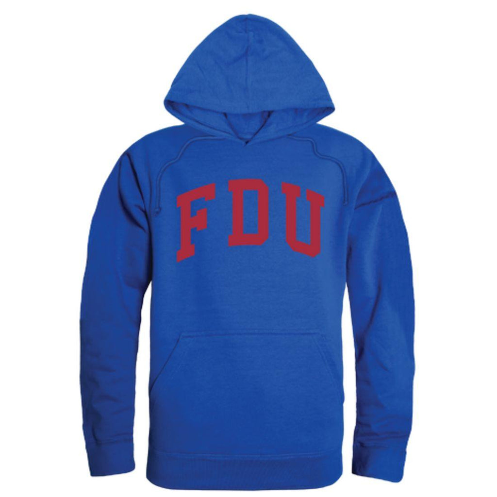 FDU Fairleigh Dickinson University Devils College Hoodie Sweatshirt Royal