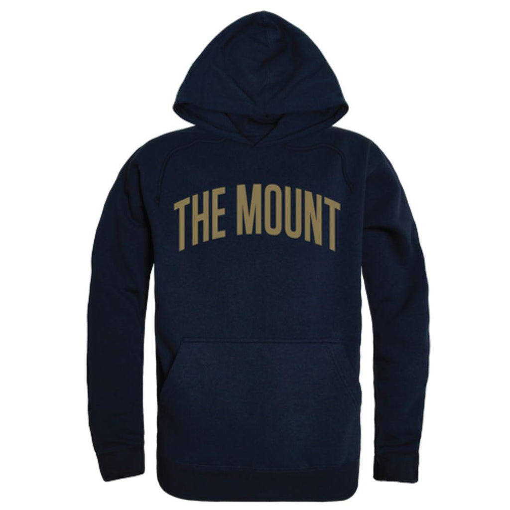 Mount St Mary's University Mountaineers College Hoodie Sweatshirt Navy