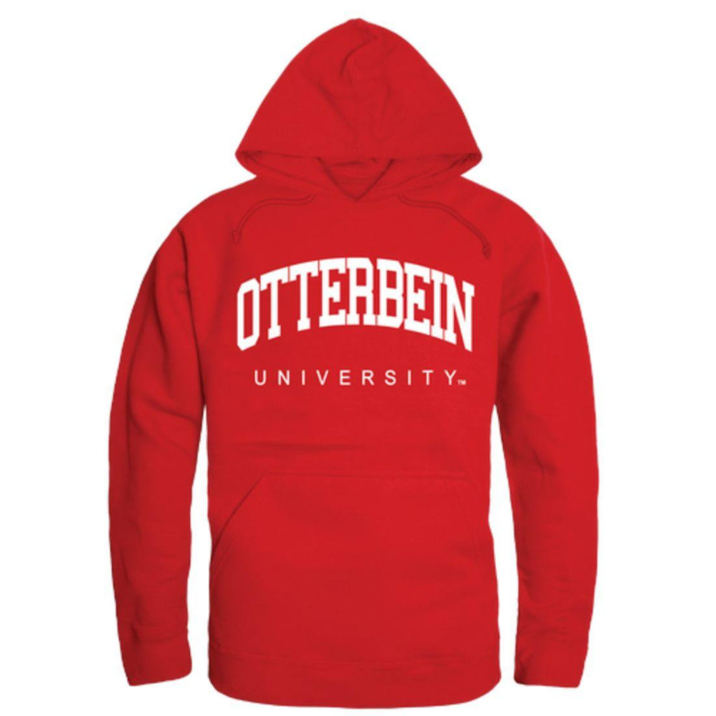 Otterbein University College Hoodie Sweatshirt Red