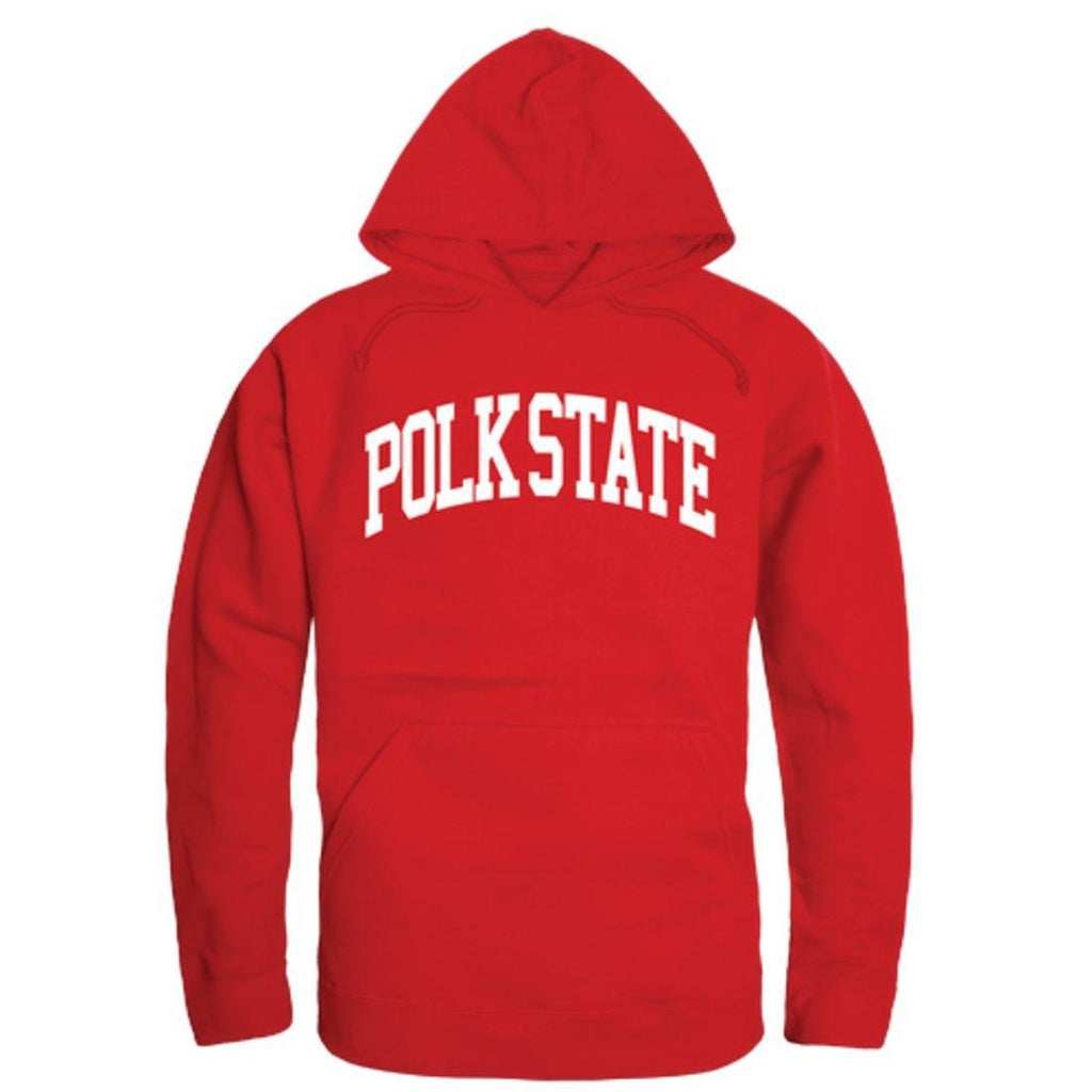 Polk State College Eagles College Hoodie Sweatshirt Red