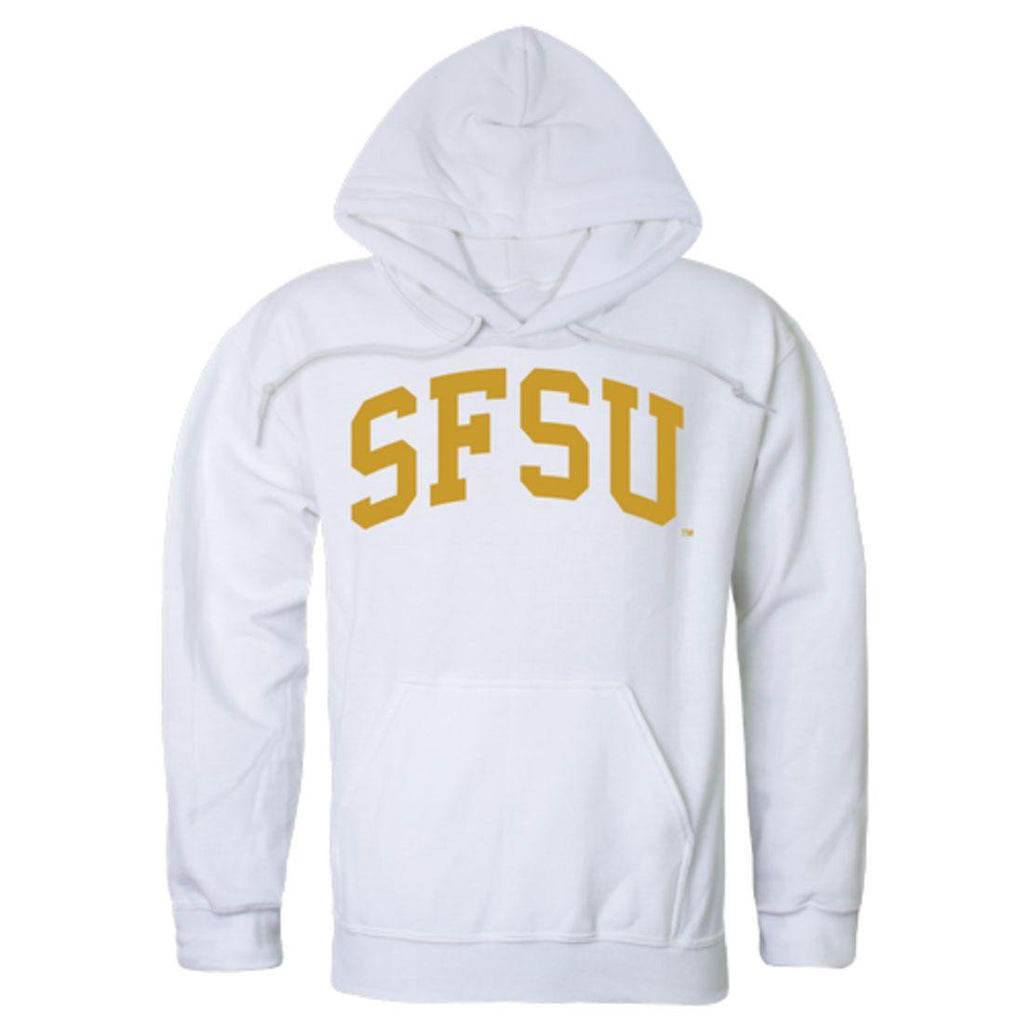SFSU San Francisco State University Gators College Hoodie Sweatshirt White