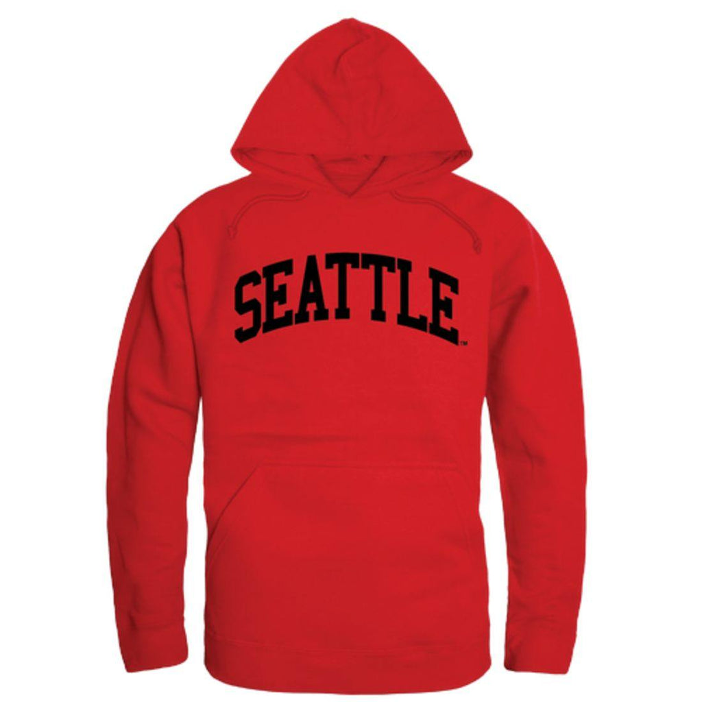 Seattle University Redhawks College Hoodie Sweatshirt Red
