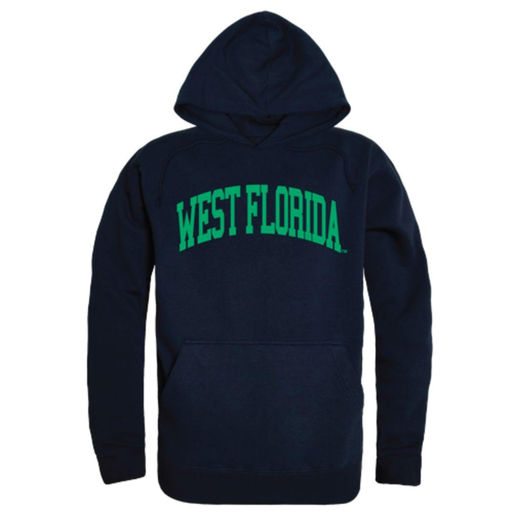 UWF University of West Florida Argonauts College Hoodie Sweatshirt Navy