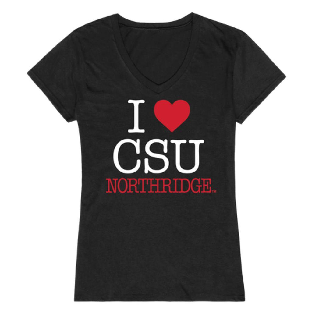 I Love CSUN California State University Northridge Matadors Womens T-Shirt