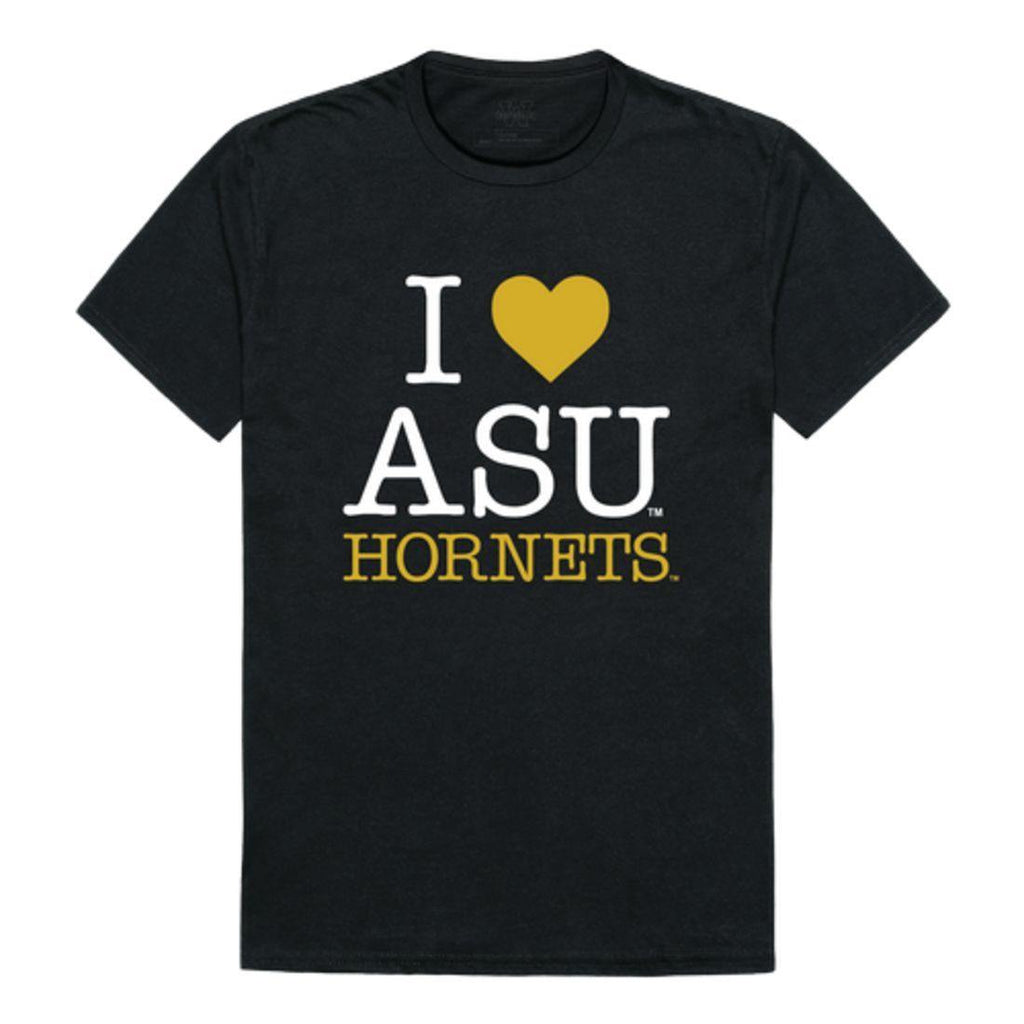 I Love ASU Alabama State University Hornets T-Shirt
