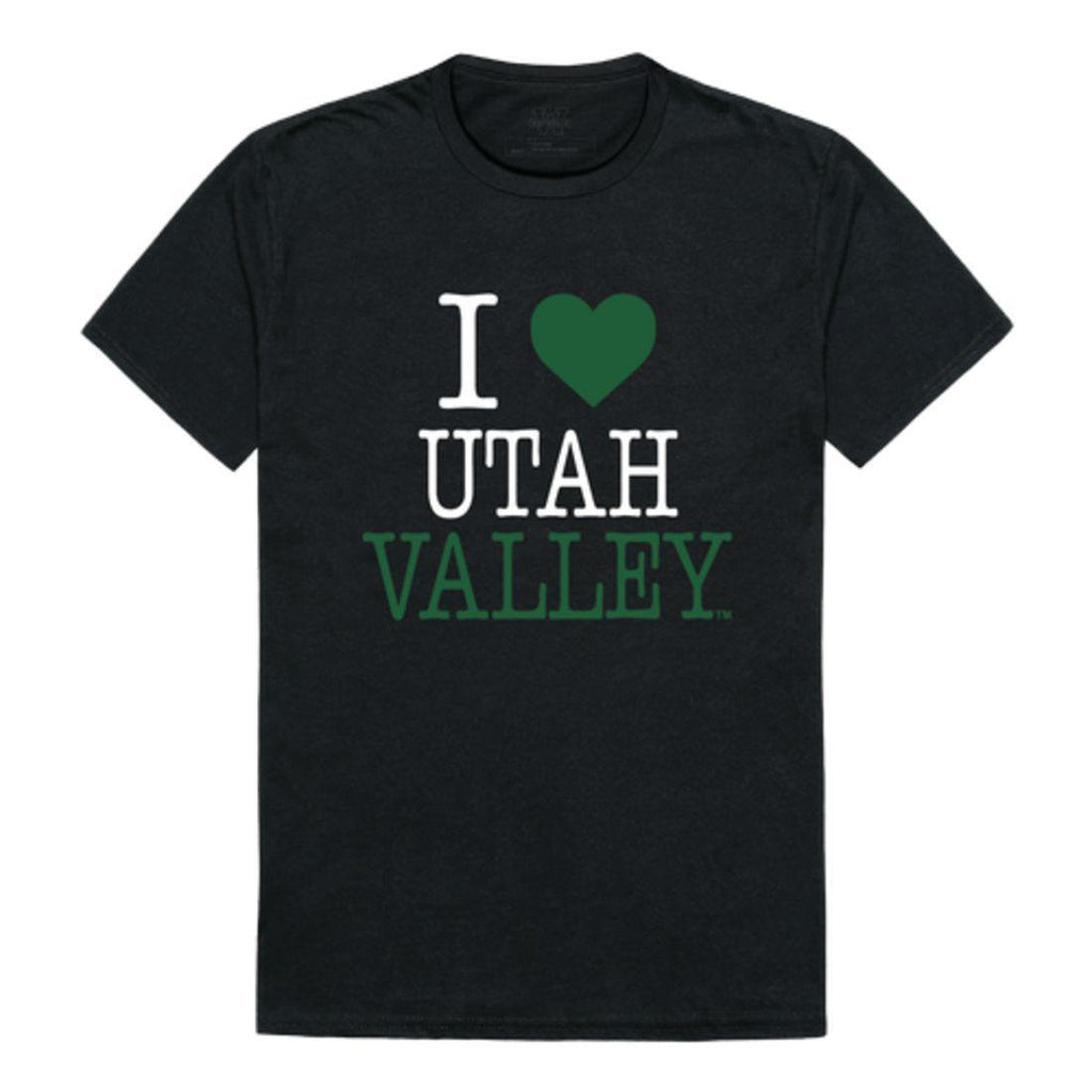 I Love UVU Utah Valley University Wolverines T-Shirt