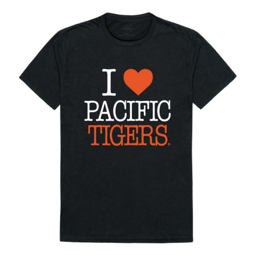 I Love University of the Pacific Tigers T-Shirt