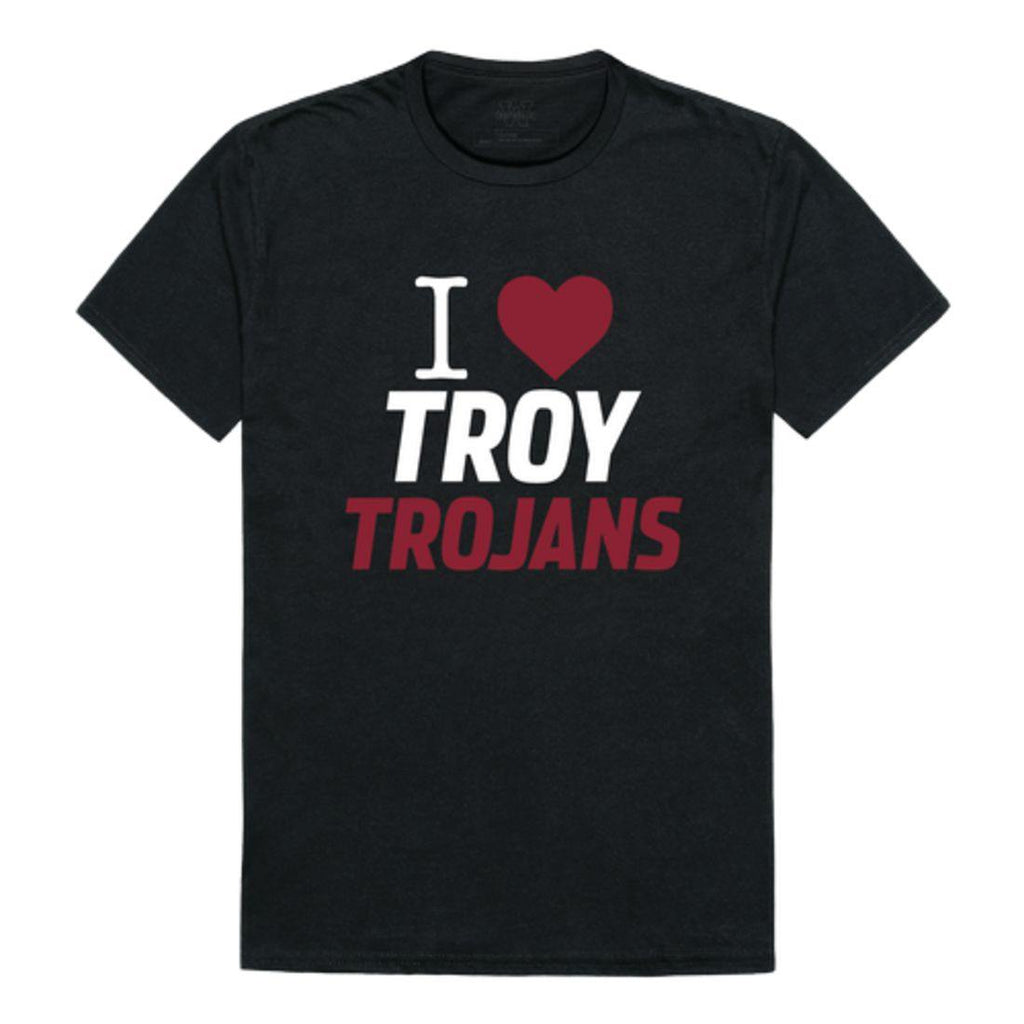 I Love Troy University Trojans T-Shirt