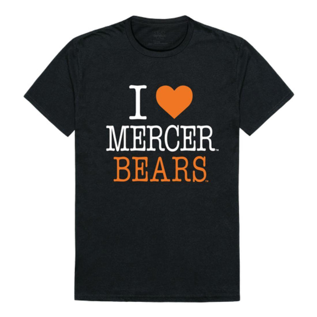 I Love Mercer University Bears T-Shirt