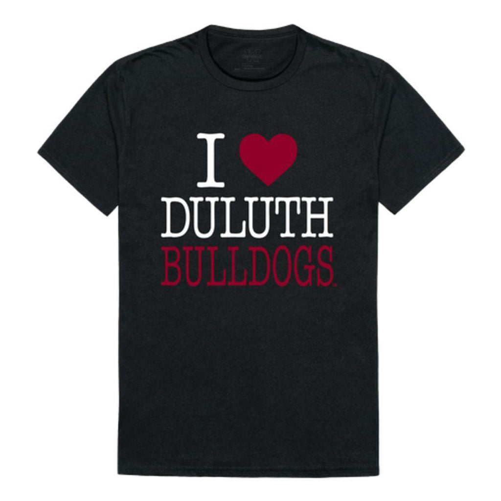 I Love UMD University of Minnesota Duluth Bulldogs T-Shirt