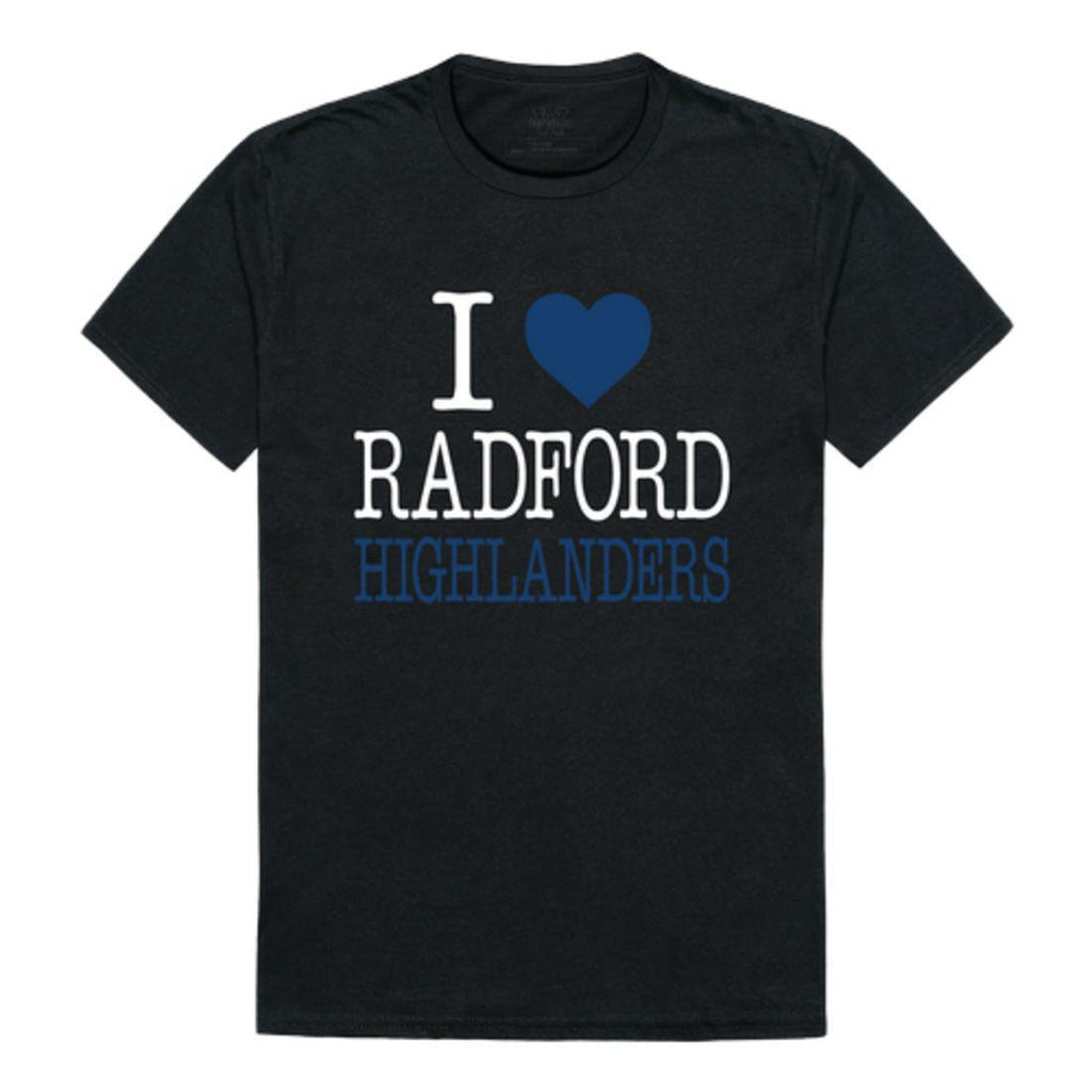 I Love Radford University Highlanders T-Shirt
