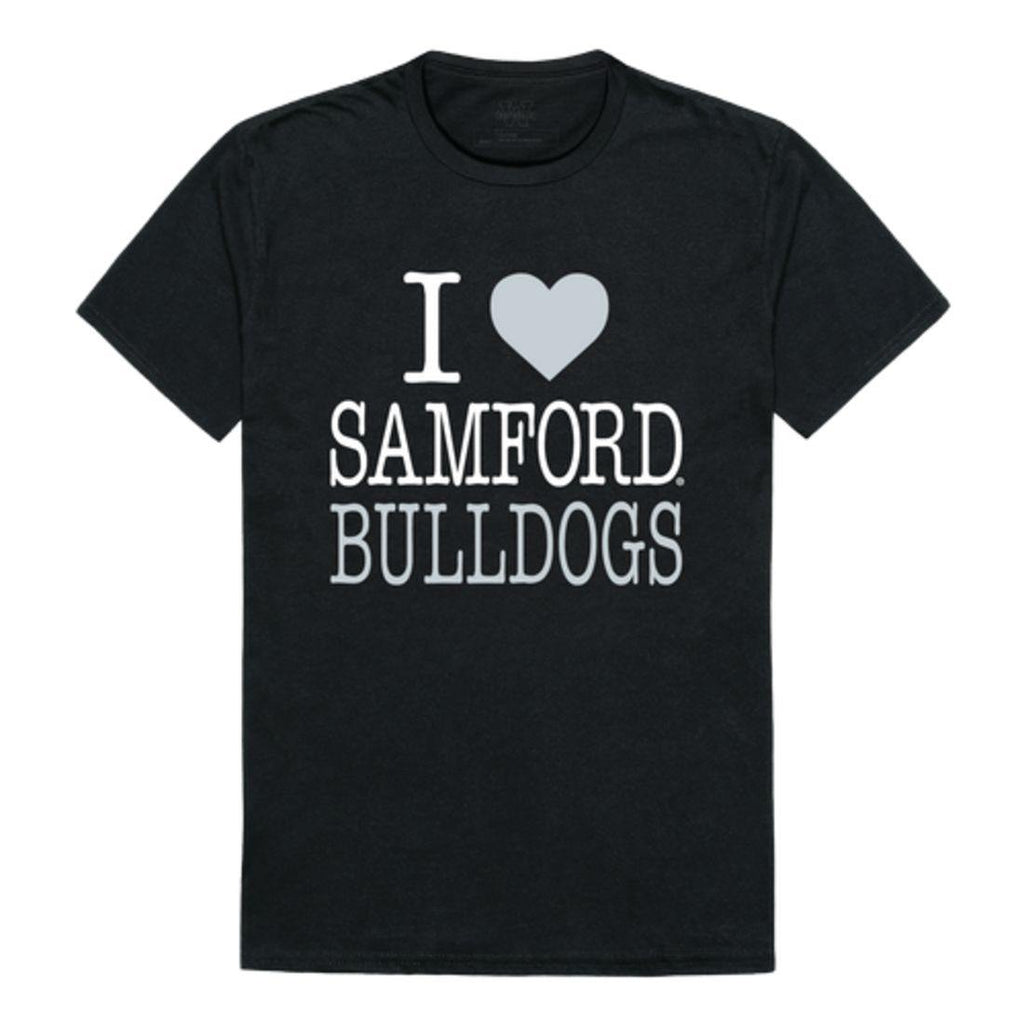 I Love Samford University Bulldogs T-Shirt