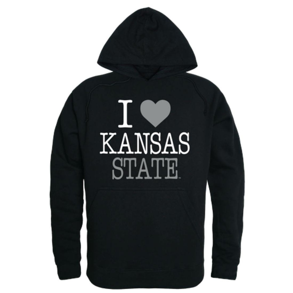 I Love KSU Kansas State University Wildcats Hoodie Sweatshirt