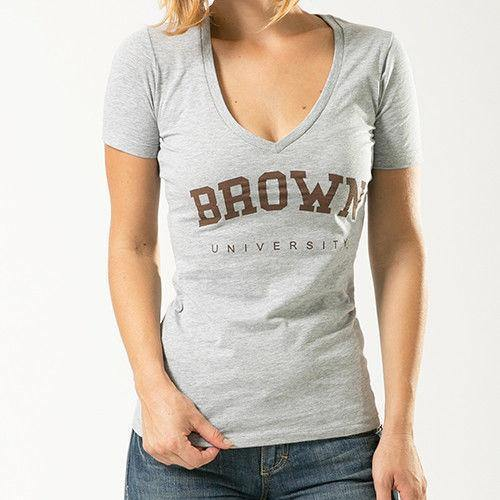 Brown University NCAA Game Day W Republic Womens Tee T-Shirt