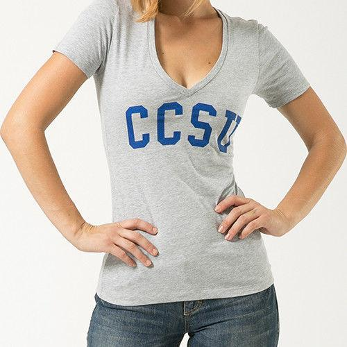 Ccsu Central Connecticut State University NCAA Game Day Womens Tee T-Shirt