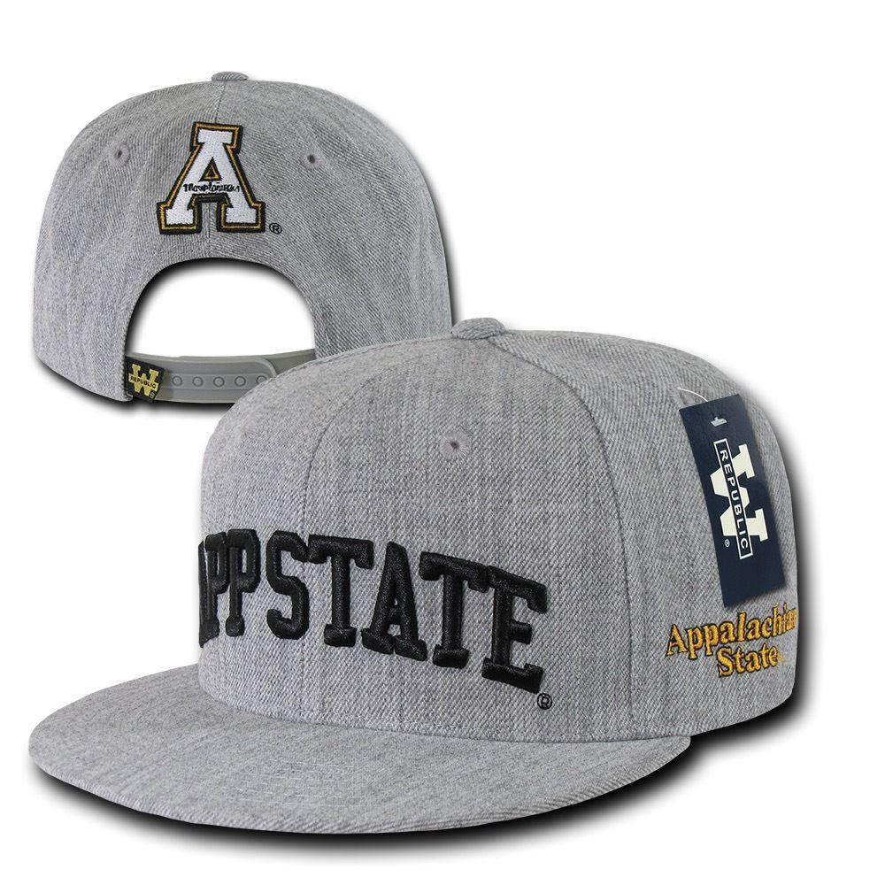 NCAA Appalachian State University Mountaineers Game Day Snapback Caps Hats