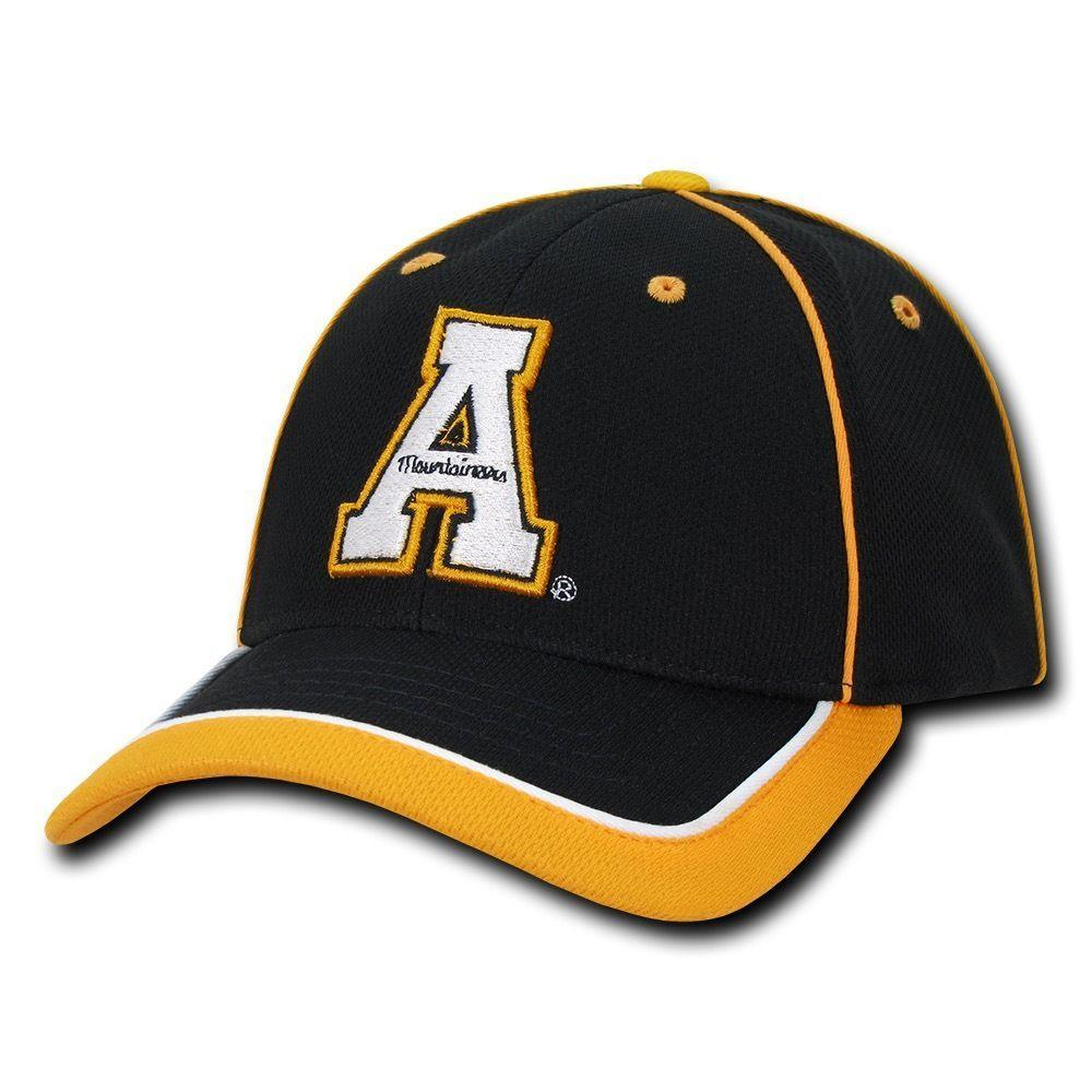 NCAA Appalachian State University Mountaineers Piped Baseball Caps Hats