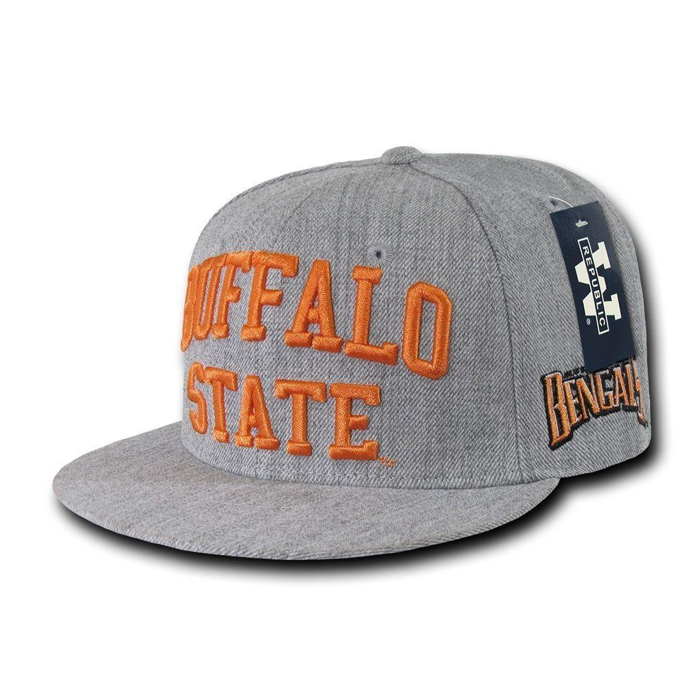 NCAA Buffalo State Bengals College 6 Panel Game Day Snapback Caps Hats