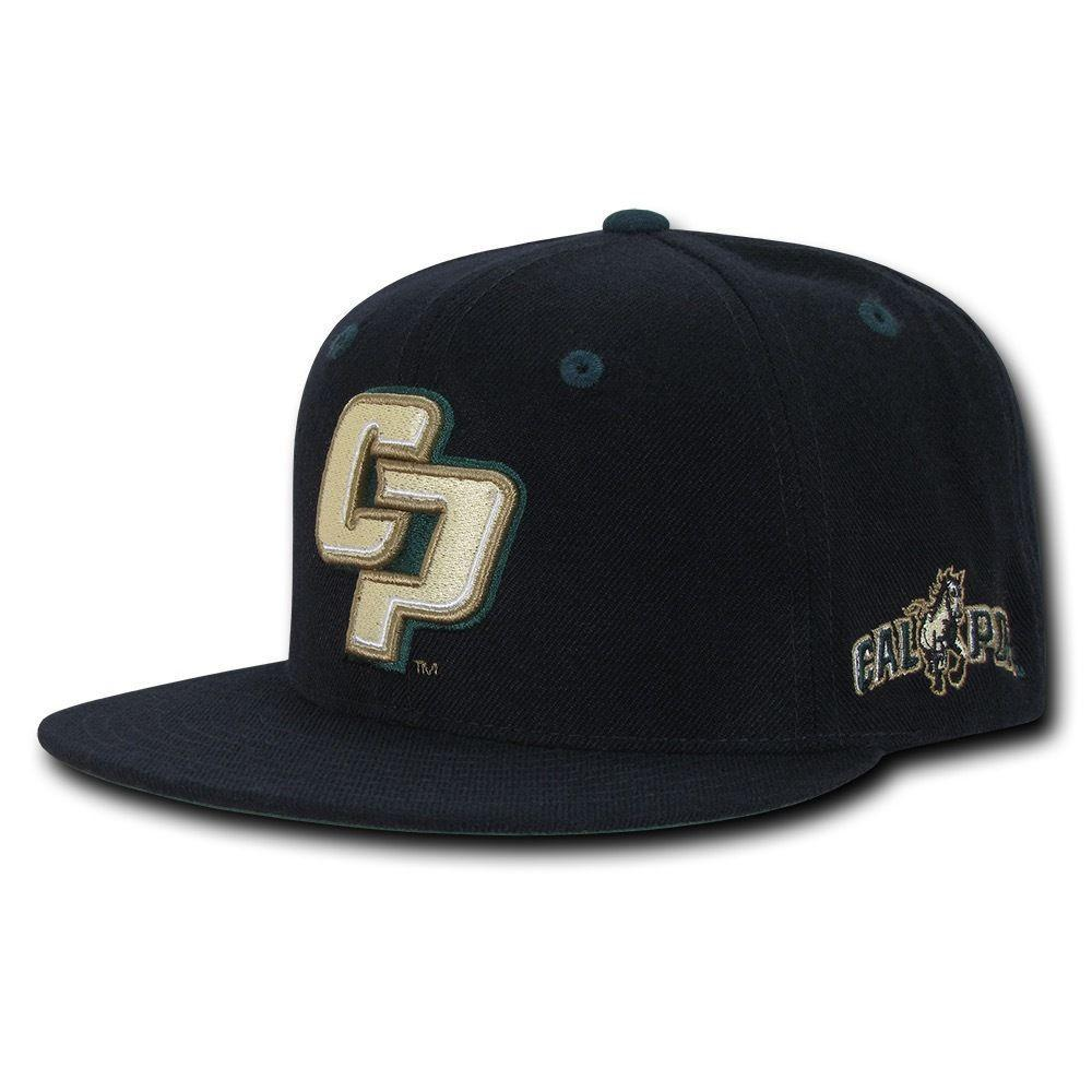 NCAA Cal Poly Mustangs University Accent Snapback Baseball Caps Hats