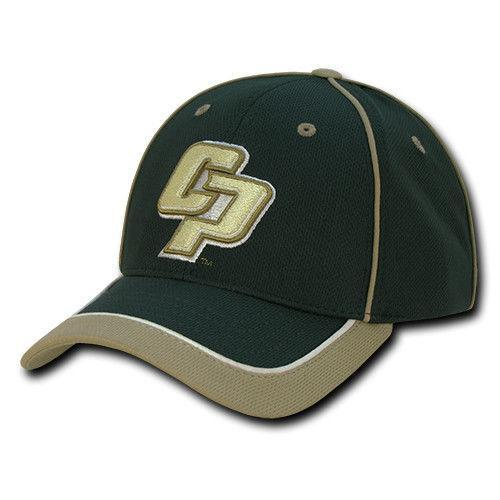 NCAA Cal State Poly University Lightweight Structured Piped Baseball Caps Hats