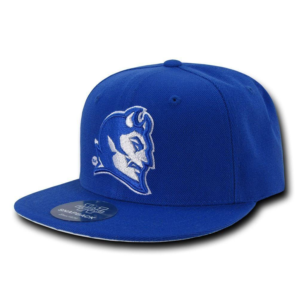 NCAA Central Connecticut Blue Devils University Snapback Baseball Caps Hats Blue