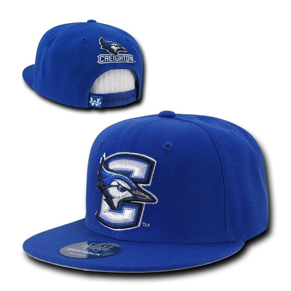 NCAA Creighton Bluejays University Freshmen 6 Panel Snapback Baseball Caps Hats