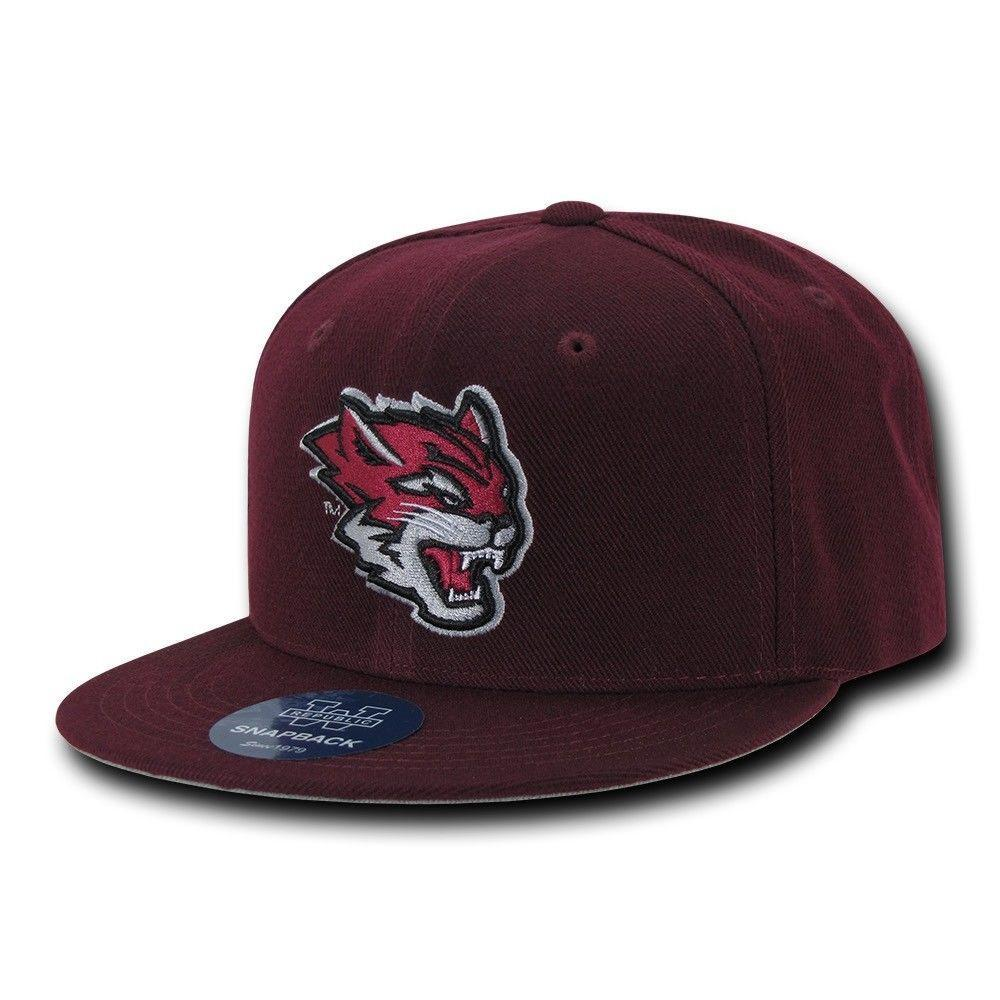NCAA Csu Chico State Wildcats Cal University 6-Panel Fitted Caps Hats Cardinal