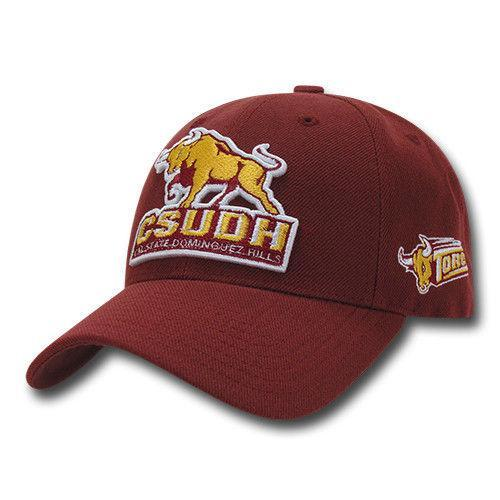NCAA Csudh Dominguez Hills Structured Acrylic Baseball 6 Panels Caps Hat