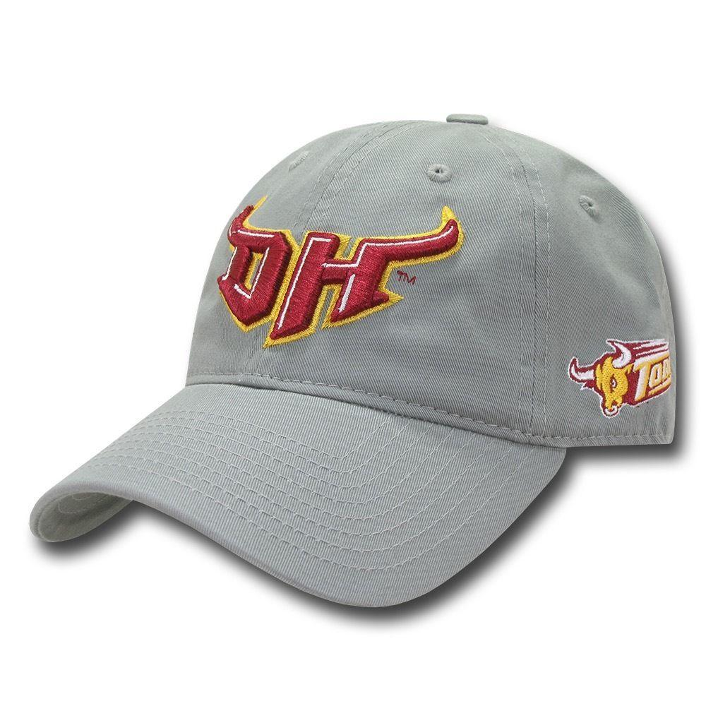 NCAA Csudh Dominguez Hills University Toros Relaxed Cotton Baseball Caps Hats